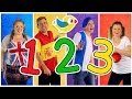 "YouTube Turbo ""Counting to 10"" Song in Four Languages! Kids Learn to Count 1 to 10. Numbers Song, Kids Songs"
