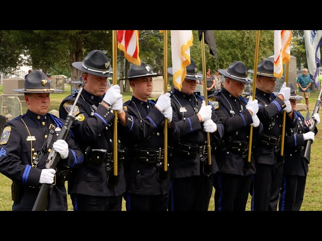 Police Honor Guard Procession & Funeral for Deputy Police Chief Thomas J, Petersen, Jr.
