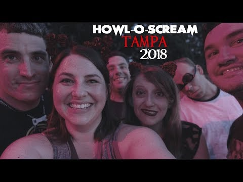 REUNITED WITH FRIENDS AT HOWL-O-SCREAM TAMPA 2018!