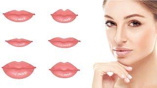 Schau, was die Form deiner Lippen über dich verrät!