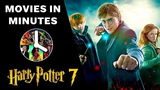 Harry Potter and the Deathly Hallows: Part 1 in 4 minutes (Movie Recap)
