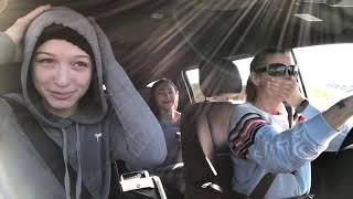 FART SPRAY PRANK ON FAMILY IN THE CAR😂 ( HILARIOUS!)