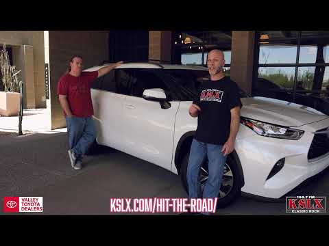 Win A New Highlander XLE From KSLX & Valley Toyota Dealers