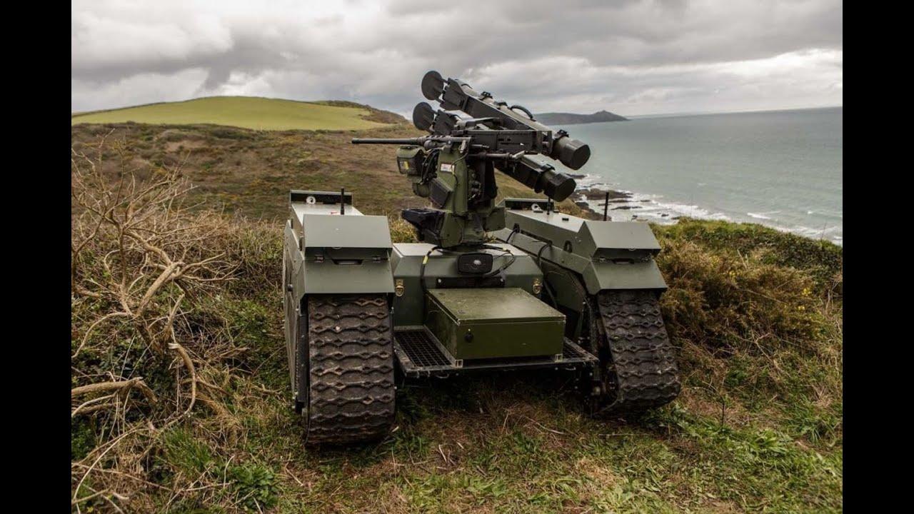 Download Robots In Action US Marines Futuristic Combat