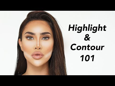 HOW TO HIGHLIGHT AND CONTOUR FOR BEGINNERS   BrittanyBearMakeup