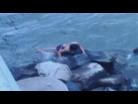 Chesapeake Bay Bridge crash: Woman swims to safety in Maryland after car plunges into water below