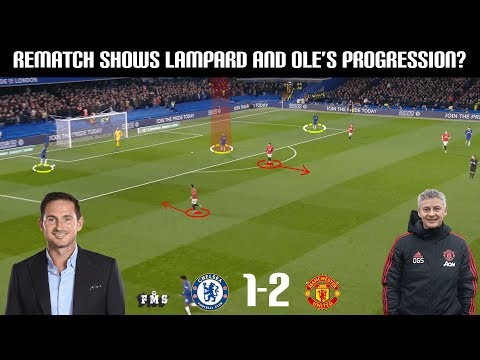 Tactical Analysis: Chelsea 1-2 Manchester United | A Tight Tactical Battle | Improvement Shown?