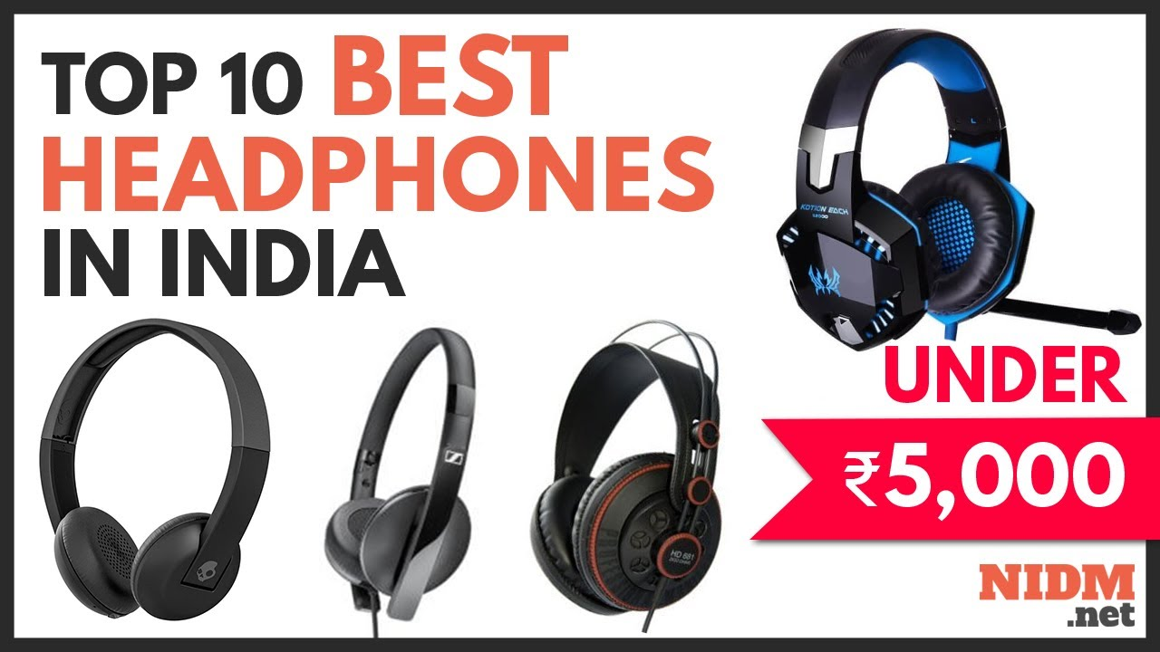 Top 10 Best Headphones Under 5000 In India 2019 Buyers Guide Youtube