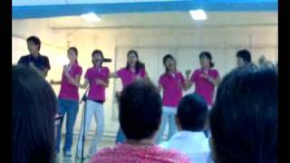 International Youth Fellowship (IYF) Philippines Acapella African song