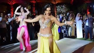 Najla Ferreira belly dancing in Wedding الراقصه نجلاء