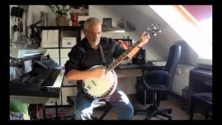 """hard ain`t it hard"" ...Banjo Übung zum Musikunterricht"