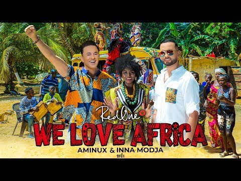 RedOne Ft. Aminux & Inna MODJA - WE LOVE AFRICA (Official AFRICAN GAMES MOROCCO 2019 Song)
