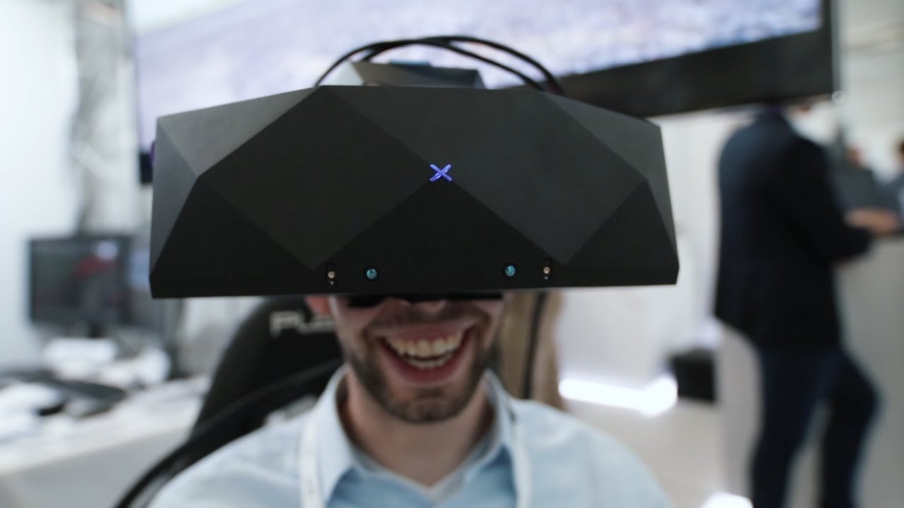 VRgineers introducing XTAL at VR Expo 2018