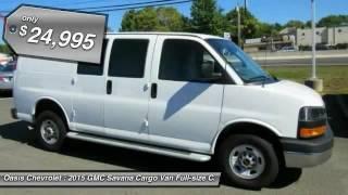 2015 GMC Savana Cargo Van Old Bridge Township NJ C7153R
