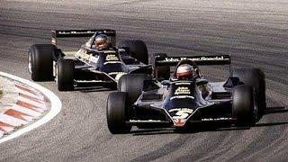 Unique F1 demo, 2 Lotus 79 , Brabham BT24, 2 Coloni C3, pre '61 F1 race