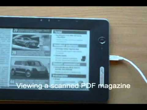 PocketBook 902 opening and processing PDFs in REAL time