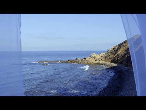 Ocean Window View - - Relaxing Video w/Natural Sounds - Stress Relief, Calm, Yoga, Meditation, Focus