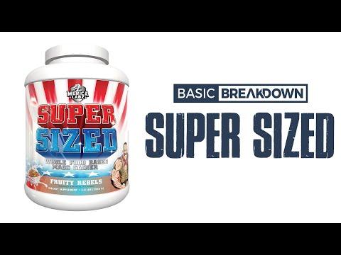 Merica Labz Super Sized Mass Gainer Protein Powder Supplement Review | Basic Breakdown
