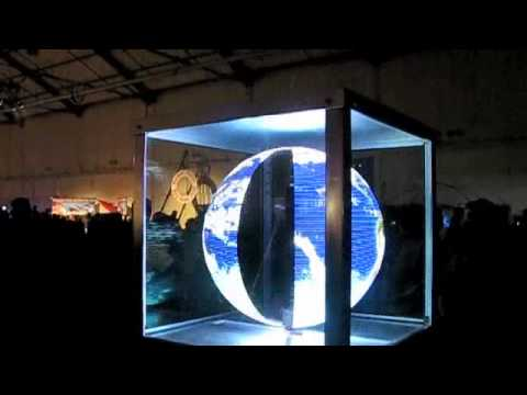 3d LED Globe