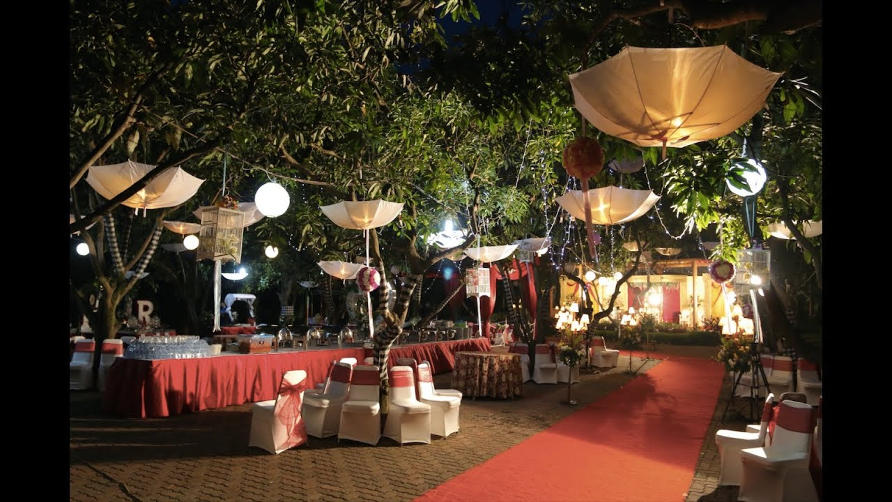 Garden party wedding at kartini garden resto the wedding for Garden design ideas for medium gardens