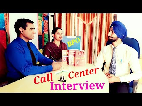 Call Center Interview (Hindi/English) : BPO Interview Questions & Answers