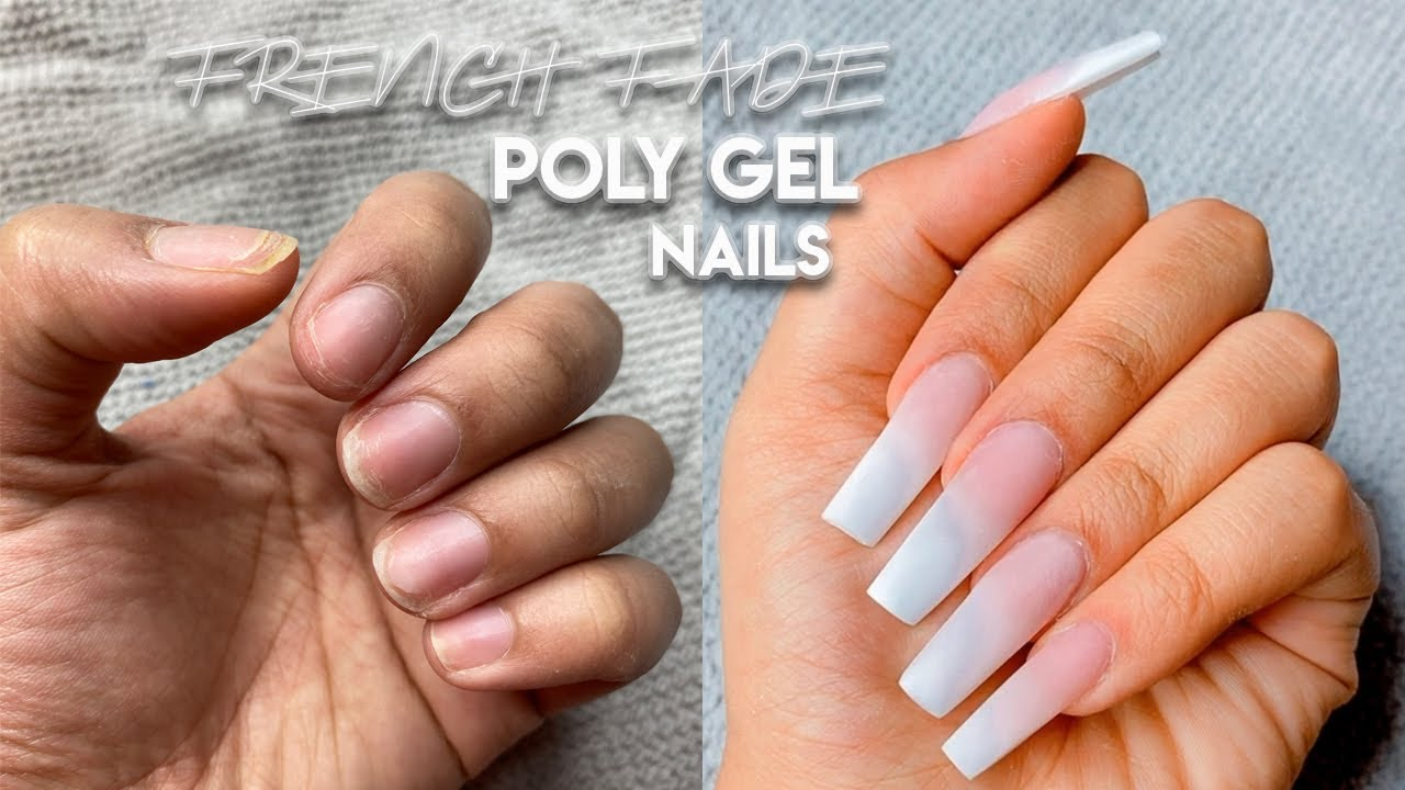HOW TO: BABY BOOMER FRENCH FADE NAILS W/ POLY GEL