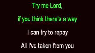 Why me, Lord karaoke