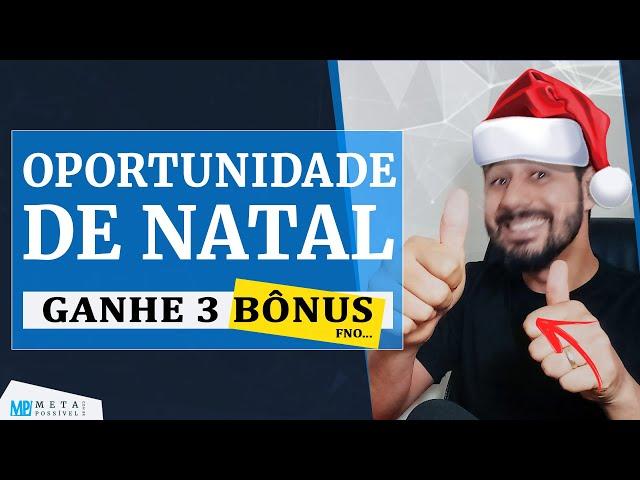 Feliz Nata e Presente FÓRMULA NEGÓCIO ONLINE Mais 3 Bônus [DESCONTO]