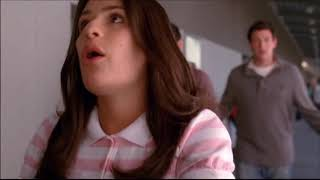 Glee - Rachel and Finn Talk About Hiring Dakota Stanley and Their Kiss In The Auditorium 1x03