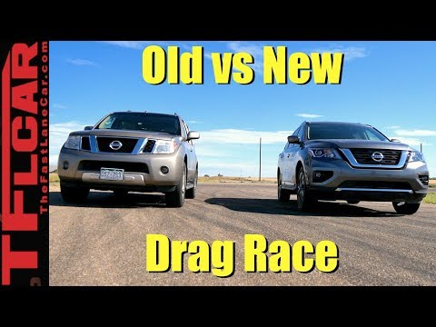 Old Vs New Pathfinder Drag Race: We Didn't See This Coming!