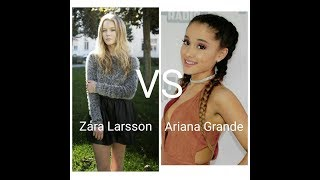Vocal Battle- Zara Larsson VS Ariana Grande