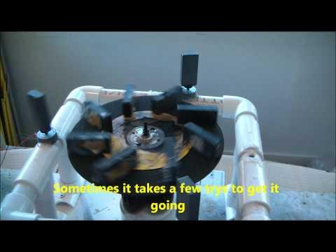 Perpetual Magnetic Generator