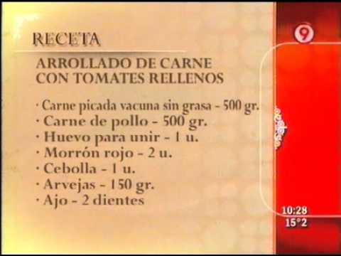 Arrollado de carne con tomates rellenos 4 de 4 ariel for Cocina 9 ariel rodriguez palacios pollo relleno