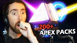 Asmongold Opens 200+ Apex Legends Packs - GETS SOME OF THE BEST LEGENDARY SKINS