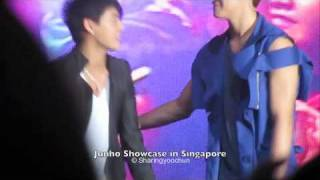 Junsu and Junho @ Junho's Singapore Showcase
