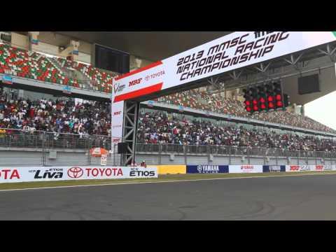 Toyota Etios Motor Racing Trophy, Delhi 2013 Race Day 1 Toyota India