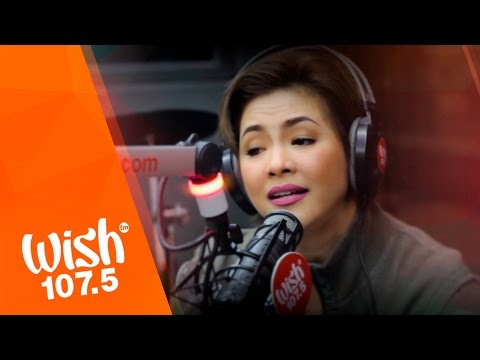 Regine VelasquezAlcasid sings ArawGabi  on Wish 1075 Bus Powered  PLDT Home Fibr