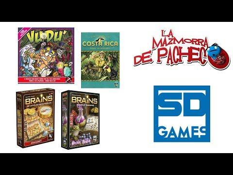 SD Games: Vudu', Costa Rica, Brains (el mapa del tesoro y poción mágica)