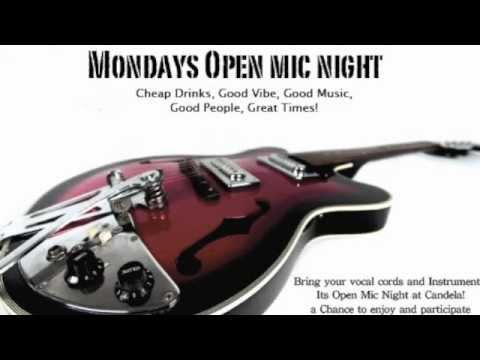 Candela's Monday Open Mic Highlights May '12