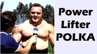 Funny Art: Powerlifter Polka