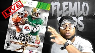 Building a Dynasty in NCAA Football 13! LIVE