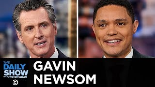 Gavin Newsom - California's Emissions Battle with Trump & Paying NCAA Players | The Daily Show