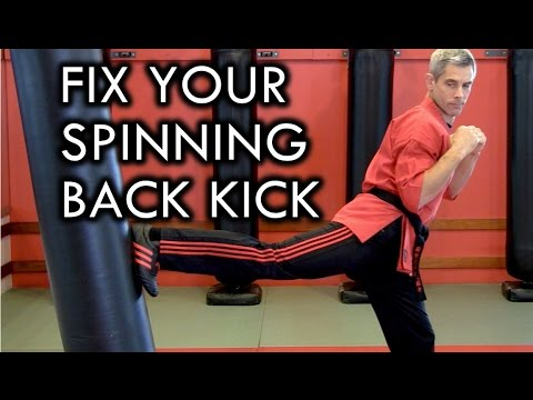 How To Fix Your Spinning Back Kick / Turning Side Kick