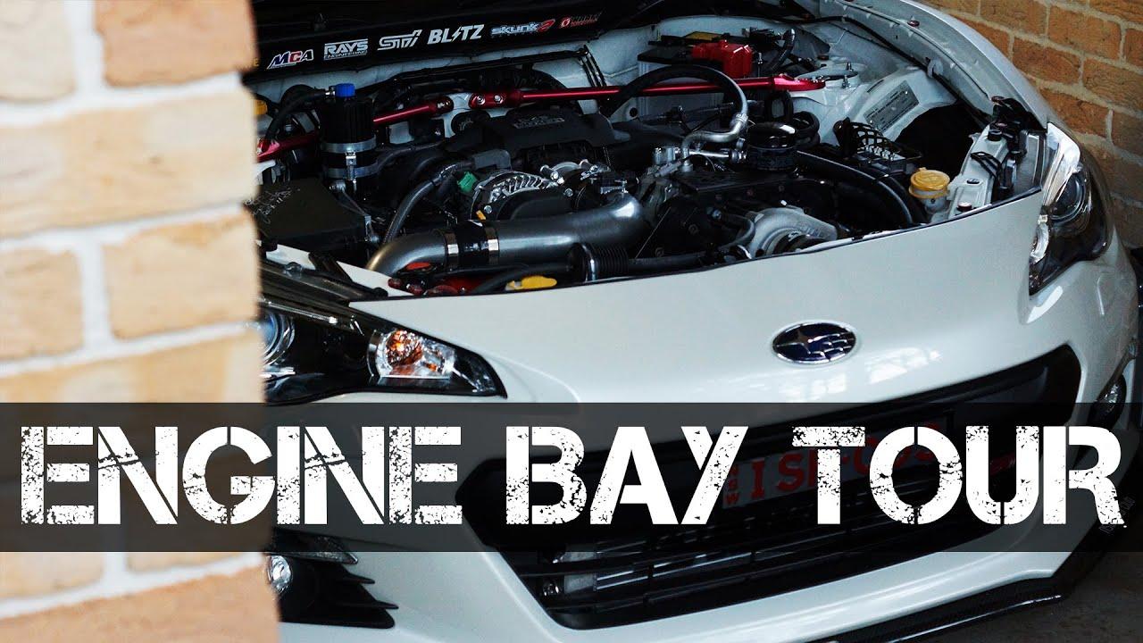 Kraftwerks Supercharger BRZ/86/FRS Engine Bay Tour - YouTube Kraftwerks Supercharger Brz