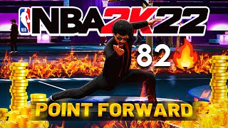 My POINT FORWARD BUILD broke the stage 1v1 court on NBA 2K22