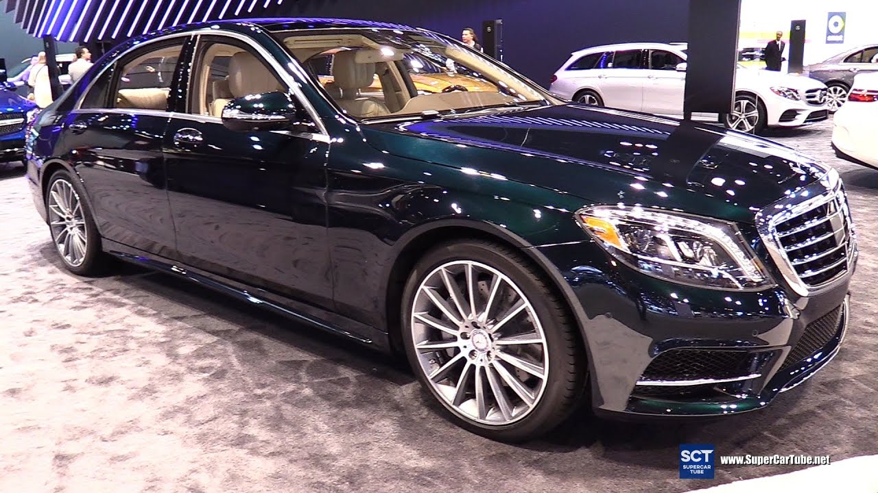 2017 Mercedes Benz S550 Sedan >> 2017 Mercedes Benz S Class S 550 Sedan Exterior And Interior