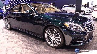2017 Mercedes Benz S Class S 550 Sedan Exterior and Interior Walkaround 2017 Chicago Auto Show