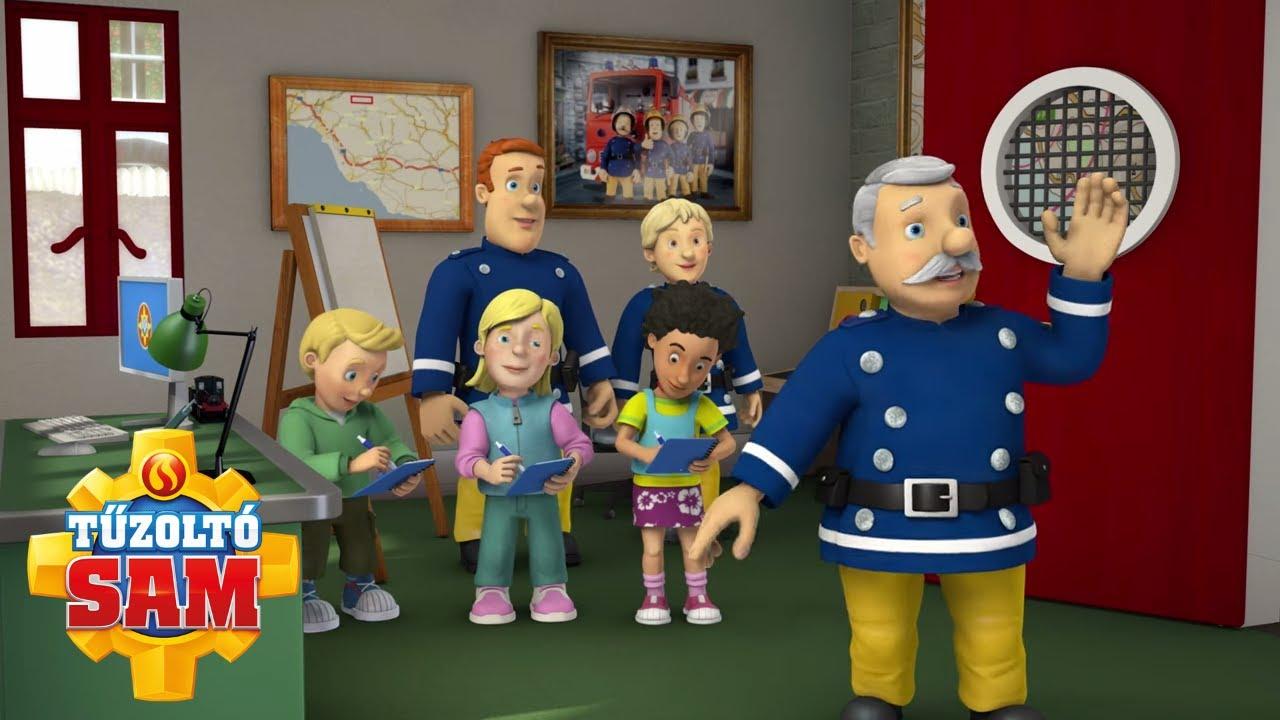 A tűzoltóság bejárása | tűzoltó sam tisztviselő | Rajzfilmek gyerekeknek