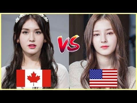 [Half Korean Beauties Battle] I.O.I SOMI vs MOMOLAND NANCY
