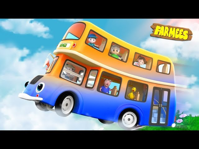 Wheels On The Bus | Nursery Rhymes For Children by Farmees